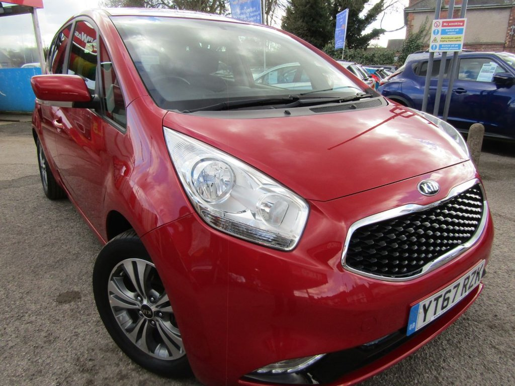 USED 2017 67 KIA VENGA 1.6 3 5d 123 BHP A ONE OWNER CAR , EX MOTABILITY WITH A  FULL SERVICE HISTORY,, GREAT SPEC CAR COMES WITH,  BLUETOOTH DAB DAYTIME  RUNNING LIGHTS  MUCH MORE, GREAT HIGHER DRIVING POSITION FOR EASY ACCESS,