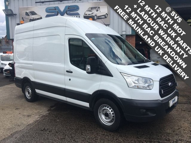 USED 2015 65 FORD TRANSIT L2 H2 MWB MEDIUM ROOF UTILITY WORKSHOP WITH PTO 240V POWER & AIR