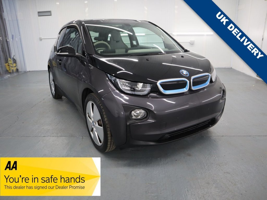 USED 2016 65 BMW I3 0.6 I3 RANGE EXTENDER 60AH 5d 168 BHP THE RANGE EXTENDER AND ITS GREATER RANGE MAKES ANXIETY A THING OF THE PAST PLUS WITH RAPID CHARGE ABILITIES ITS THE CHOICE OF ELECTRIC MOTORING