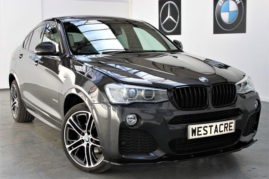 USED 2015 65 BMW X4 2.0 XDRIVE20D M SPORT 4d 188 BHP