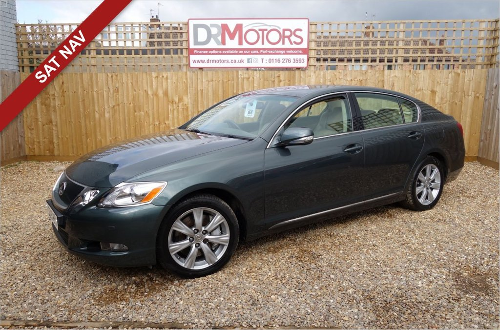 USED 2009 09 LEXUS GS 3.0 300 SE 4d 246 BHP *** 6 MONTHS NATIONWIDE GOLD WARRANTY ***