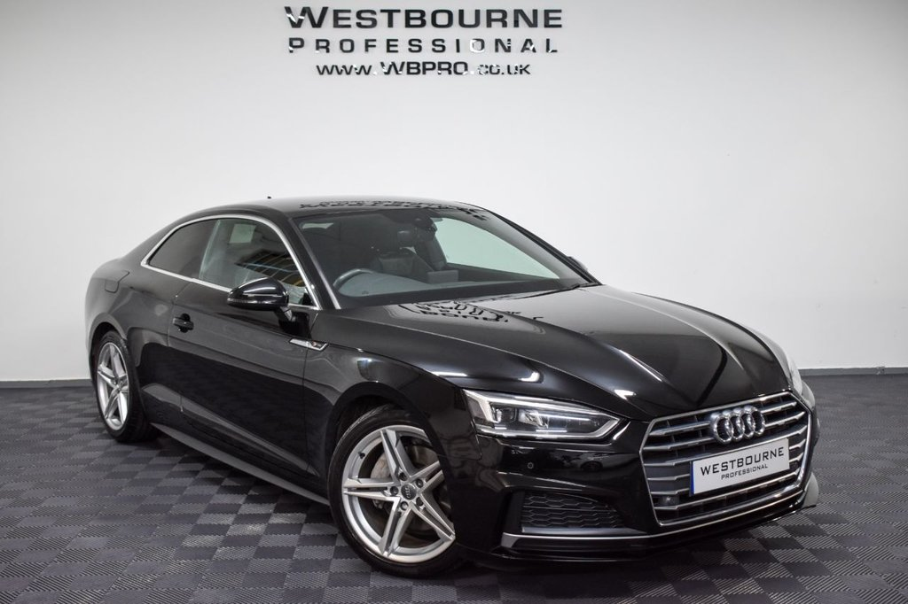 USED 2017 17 AUDI A5 2.0 TDI S LINE 2d 188 BHP Click&Collect / Home Delivery