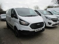 USED 2019 19 FORD TRANSIT CUSTOM 2.0 300 BASE P/V L1 H1 5d 105 BHP swb Turbo Diesel 2019 Ford Custom 300 base 1 owner from new ford warranty applies