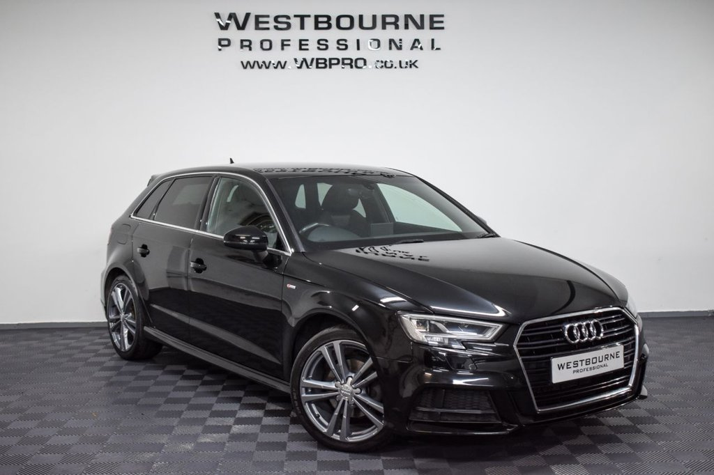 USED 2016 66 AUDI A3 2.0 TDI S LINE 5d 148 BHP Click&Collect / Home Delivery