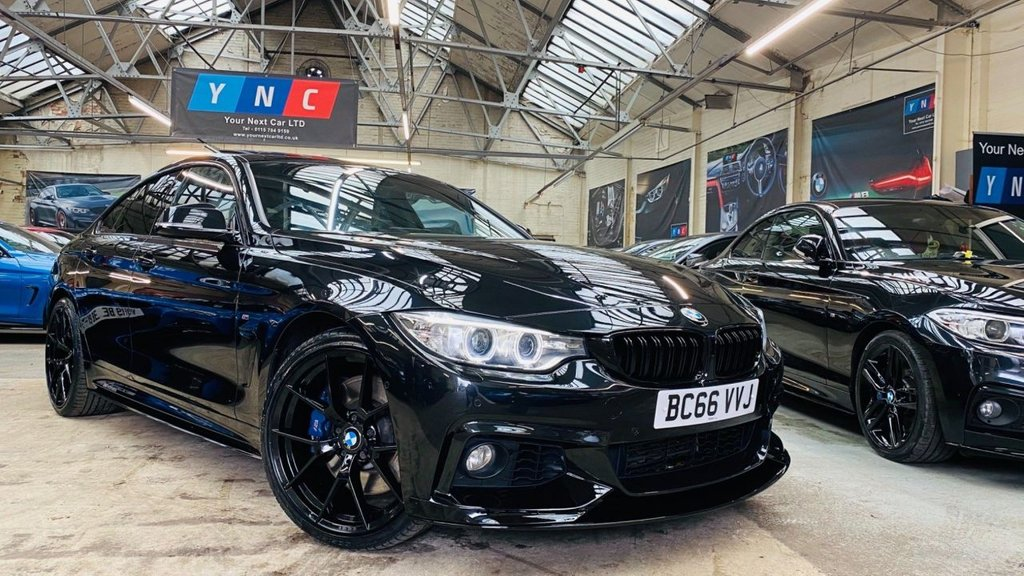 USED 2017 66 BMW 4 SERIES 3.0 435d M Sport Gran Coupe Sport Auto xDrive (s/s) 5dr PERFORMANCEKIT+SROOF+MPLUSPACK