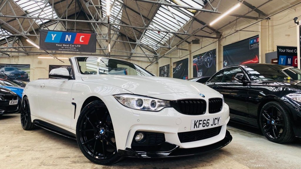 USED 2016 66 BMW 4 SERIES 2.0 420i M Sport 2dr PERFORMANCEKIT+20S+XENONS