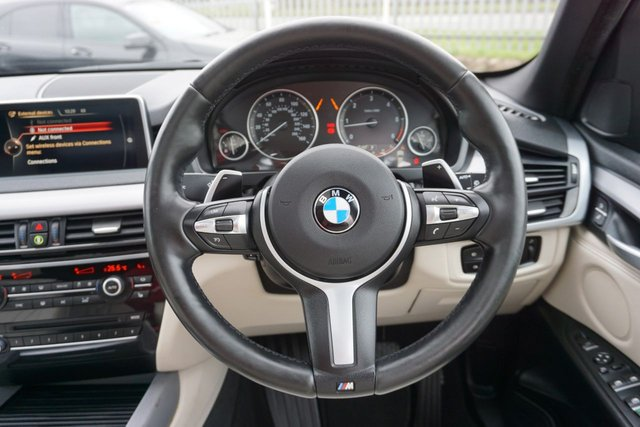 USED 2015 65 BMW X5 3.0 XDRIVE40D M SPORT 5d 309 BHP GREAT SPEC, 7 SEATER, REAR SEAT ENTERTAINMENT