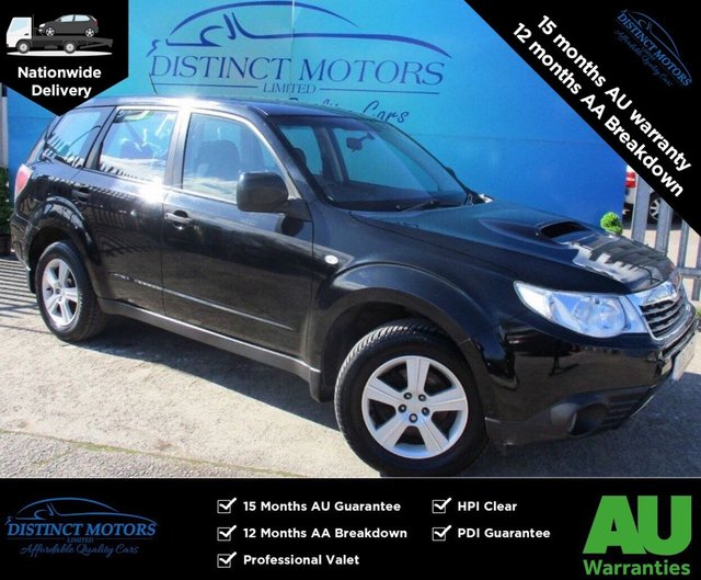 USED 2010 10 SUBARU FORESTER 2.0 D X 5d 147 BHP