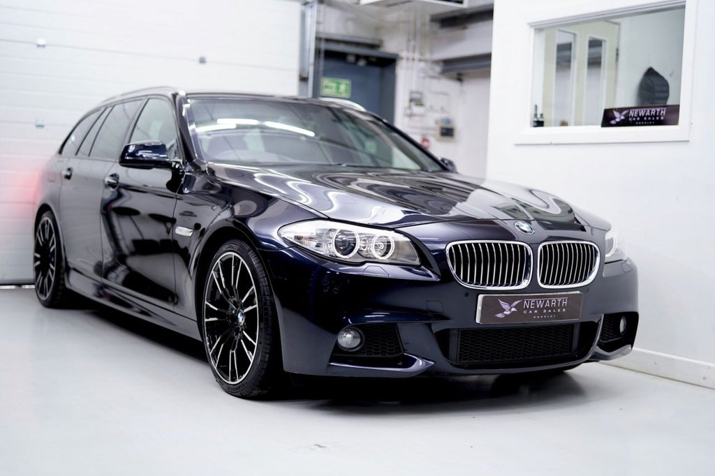 USED 2013 62 BMW 5 SERIES 3.0 530d M Sport Touring 5dr Brand New 20' Alloys & Tyres