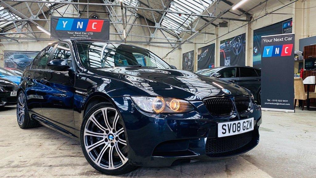 USED 2008 08 BMW M3 4.0 iV8 4dr LOWMILES+MANUAL+FSH