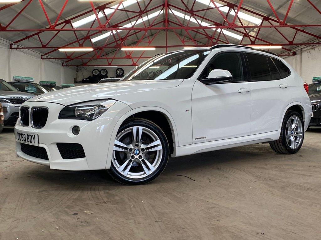 USED 2013 63 BMW X1 2.0 XDRIVE18D M SPORT 5d 141 BHP ++HIGH SPEC++