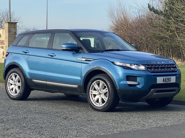 USED 2013 13 LAND ROVER RANGE ROVER EVOQUE 2.2 SD4 PURE 5d 190 BHP 4WD Panoramic Roof, Reversing Camera