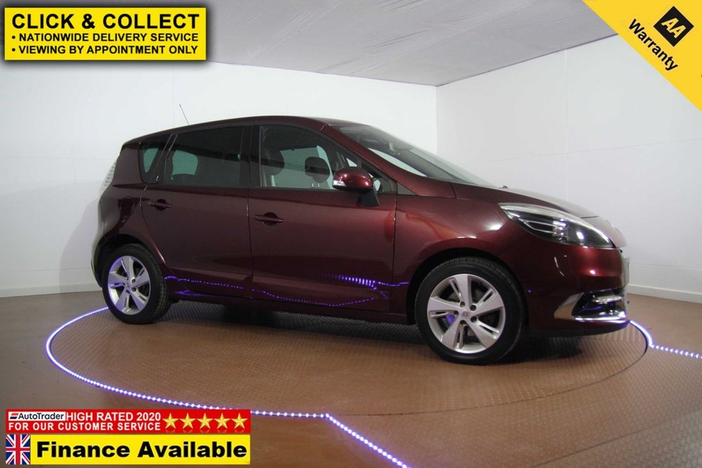 USED 2012 62 RENAULT SCENIC 1.5 DYNAMIQUE TOMTOM DCI EDC 5d 110 BHP