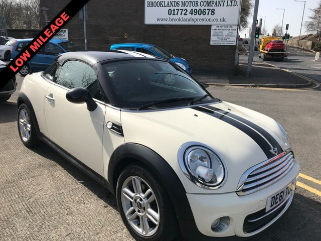 USED 2011 61 MINI COUPE 1.6 COOPER 2DR COUPE