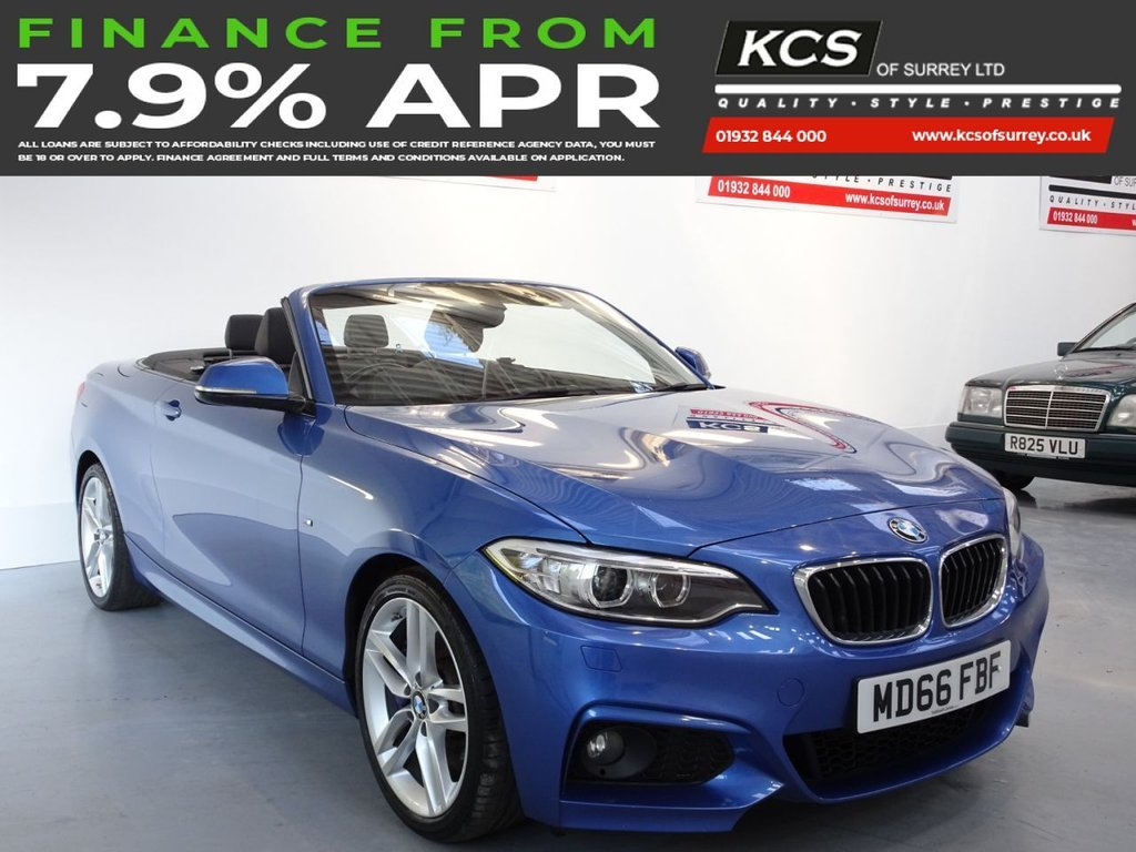 USED 2016 66 BMW 2 SERIES 1.5 218I M SPORT 2d 134 BHP SAT NAV -PLUS PACK -HTD SEATS