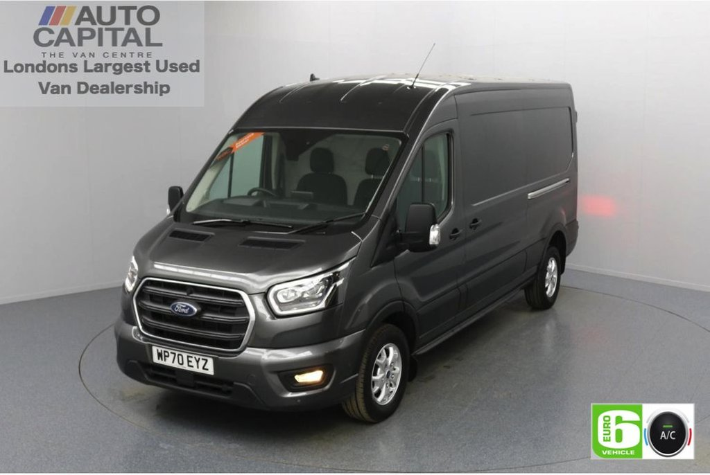 USED 2020 70 FORD TRANSIT 2.0 350 FWD Limited EcoBlue Auto 130 BHP L3 H2 Low Emission Automatic Gearbox   Eco Mode   Auto Start-Stop   Front and rear parking distance sensors   Alloy wheels