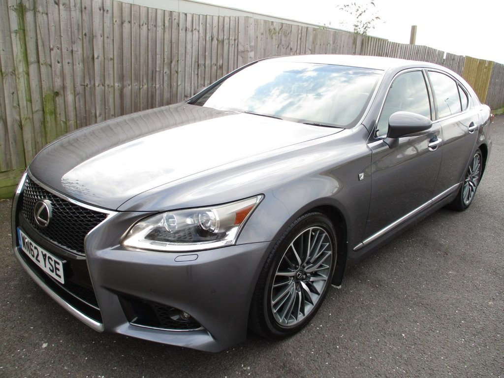 USED 2013 62 LEXUS LS 4.6 460 LUXURY 4d AUTO 383 BHP