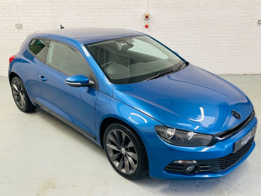 USED 2010 10 VOLKSWAGEN SCIROCCO 2.0 GT TDI 2d 170 BHP 170 BHP, MANUAL, DYNAUDIO, FINANCE AVAILABLE