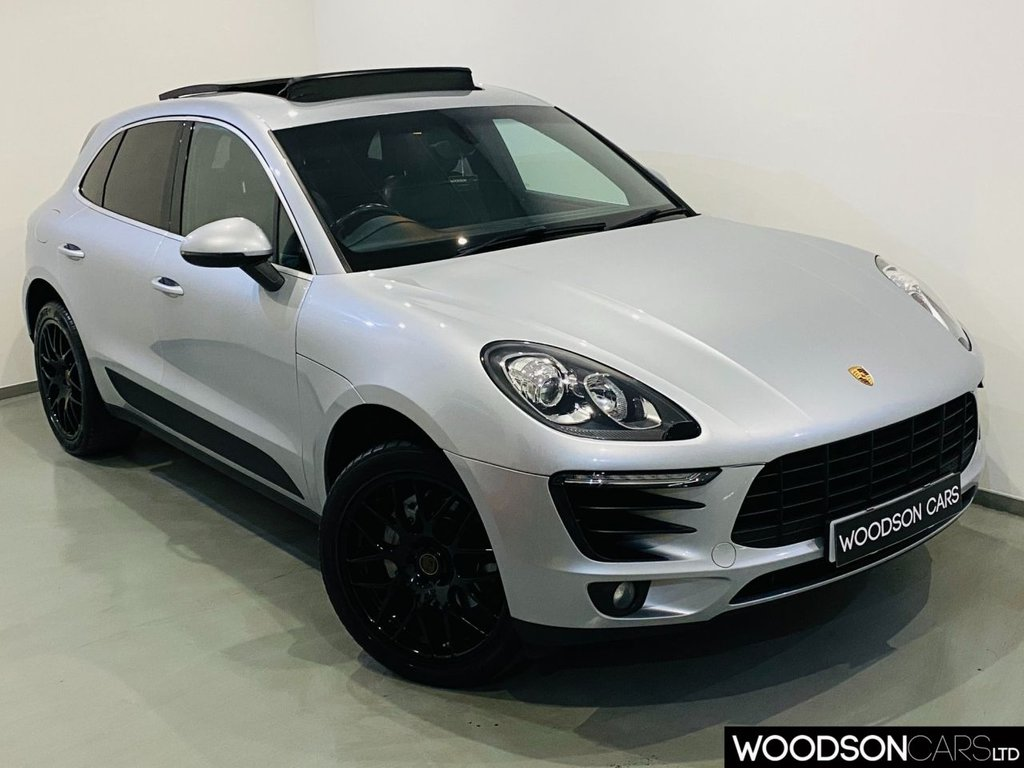 USED 2014 14 PORSCHE MACAN 3.0 D S PDK 5d 258 BHP Sat Nav / Bluetooth / Parking Sensors / Isofix / Xenon Lights