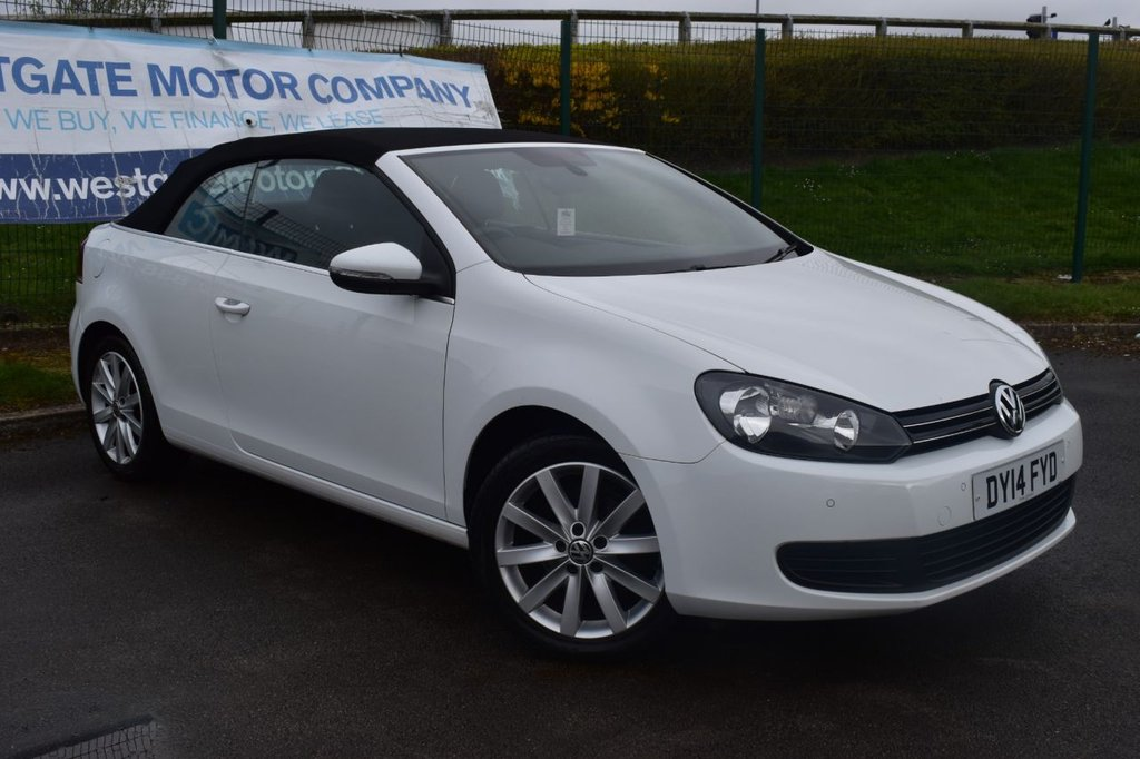 USED 2014 14 VOLKSWAGEN GOLF 1.6 SE TDI BLUEMOTION TECHNOLOGY 2d 104 BHP