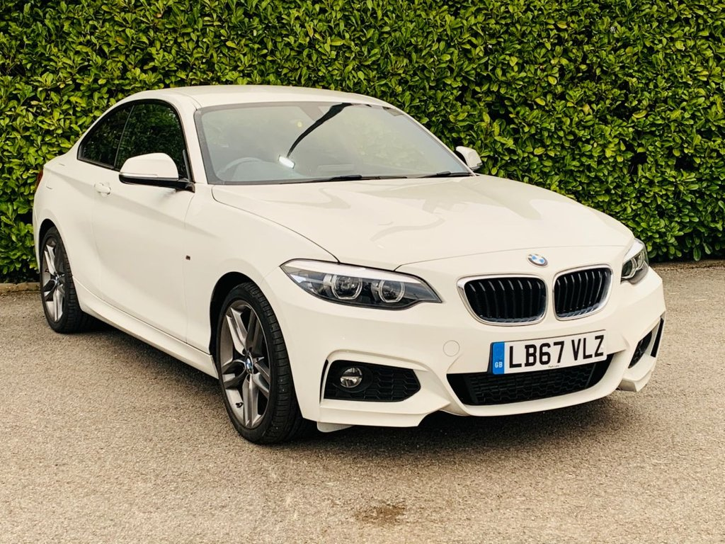USED 2018 67 BMW 2 SERIES 1.5 218I M SPORT 2d 134 BHP