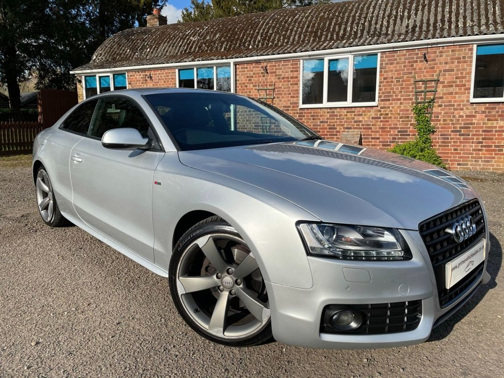 USED 2011 61 AUDI A5 2.0 TFSI Black Edition 2dr Technology Pack