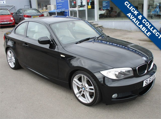 USED 2011 61 BMW 1 SERIES 2.0 118D M SPORT 2d 141 BHP STUNNING CONDITION AND DRIVE