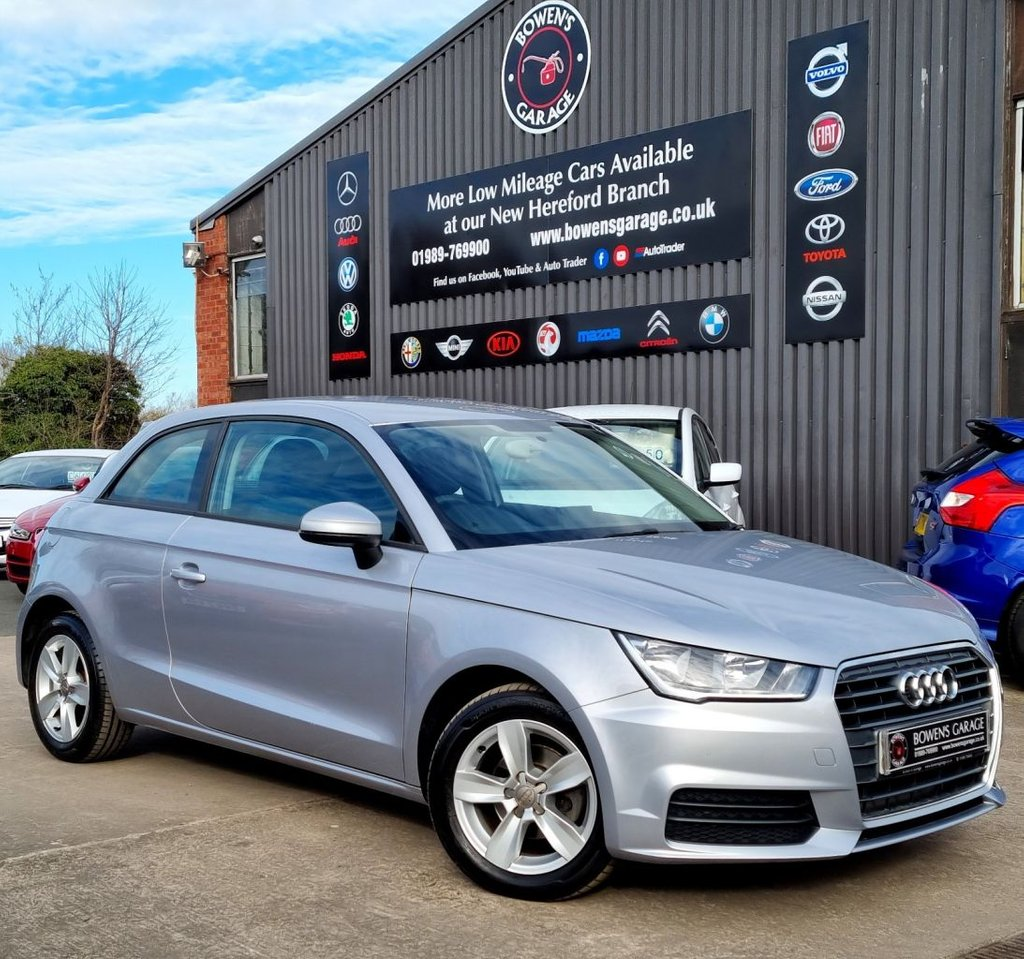 USED 2015 65 AUDI A1 1.0 TFSI SE 3D 93 BHP 1 Lady Owner - Very Low Miles - NIL Tax - 3 Services
