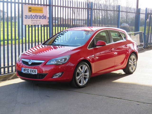 USED 2010 10 VAUXHALL ASTRA 1.6 SRI SRi VX Line 5d 177 BHP Full Leather & Parking Sensors,Heated Seats and cruise control