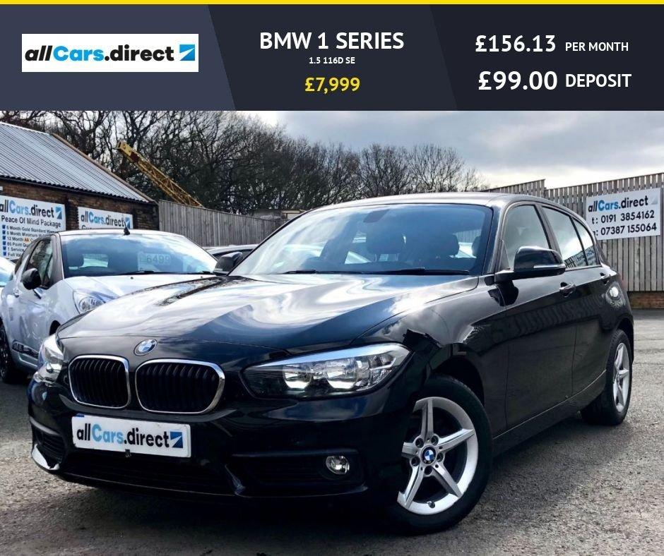 USED 2015 15 BMW 1 SERIES 1.5 116D SE
