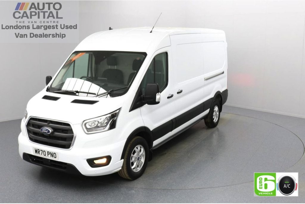 USED 2020 70 FORD TRANSIT 2.0 350 FWD Limited EcoBlue Auto 130 BHP L3 H2 Low Emission Sat Nav | Automatic Gearbox | Eco Mode | Auto Start-Stop | Front and rear parking distance sensors | Alloy wheels