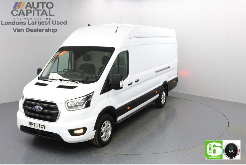 USED 2020 70 FORD TRANSIT 2.0 350 RWD Limited EcoBlue 185 BHP L4 H3 Low Emission Sat Nav   Eco Mode   Auto Start-Stop   Front and rear parking distance sensors   Alloy wheels