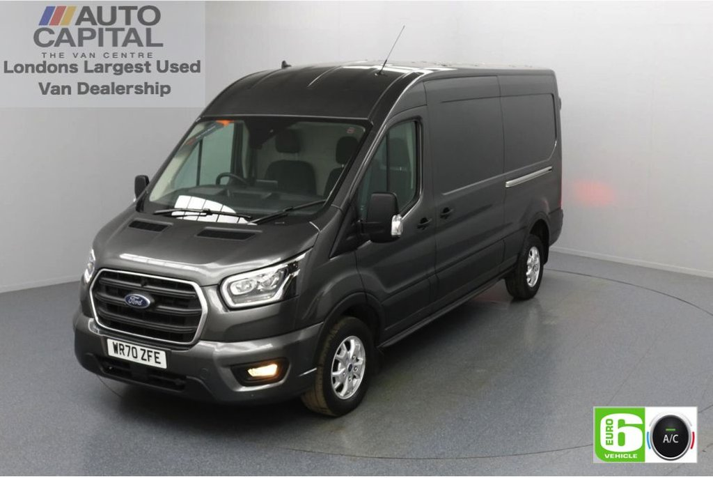 USED 2020 70 FORD TRANSIT 2.0 350 FWD Limited EcoBlue Auto 185 BHP L3 H2 Low Emission Sat Nav   Automatic Gearbox   Eco Mode   Auto Start-Stop   Front and rear parking distance sensors   Alloy wheels
