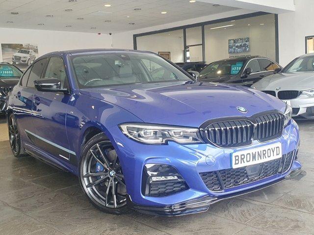 USED 2019 19 BMW 3 SERIES 2.0 320D XDRIVE M SPORT 4d 188 BHP BM PERFORMANCE STYLING+6.9%APR