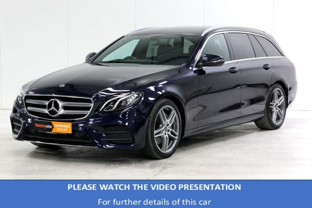 USED 2018 68 MERCEDES-BENZ E-CLASS 2.0 E220d AMG Line G-Tronic+ (s/s) 5dr VAT*HEATED SEATS*REAR CAMERA