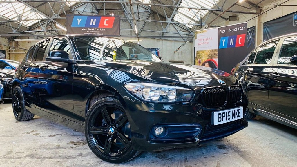 USED 2015 15 BMW 1 SERIES 1.5 116d Sport (s/s) 5dr LOW MILEAGE BLACK PACK!