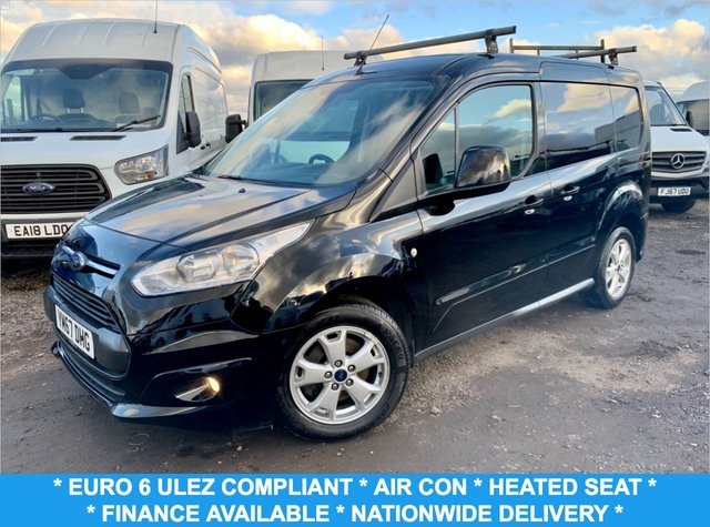 USED 2017 67 FORD TRANSIT CONNECT 1.5 200 LIMITED P/V 118 BHP