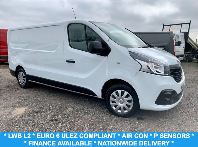 USED 2017 17 RENAULT TRAFIC 1.6 LL29 BUSINESS PLUS DCI 120 BHP