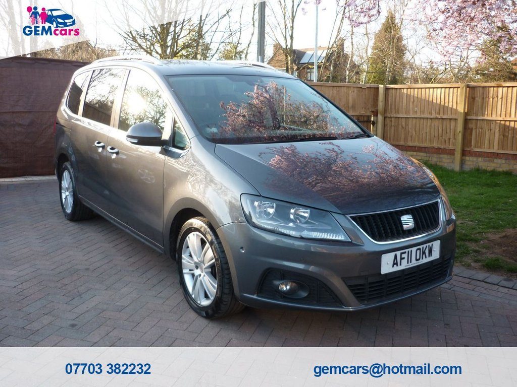 USED 2011 11 SEAT ALHAMBRA 2.0 CR TDI SE DSG 5d 140 BHP GO TO OUR WEBSITE TO WATCH A FULL WALKROUND VIDEO