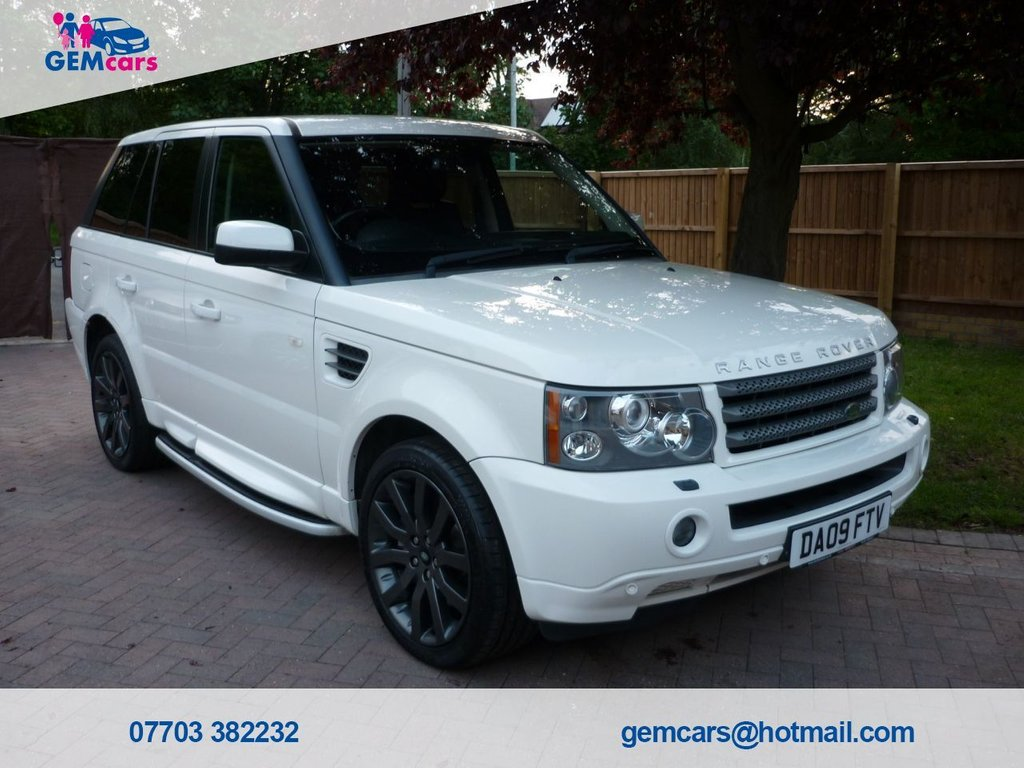 USED 2009 09 LAND ROVER RANGE ROVER SPORT 2.7 TDV6 SPORT HSE 5d 188 BHP GO TO OUR WEBSITE TO WATCH A FULL WALKROUND VIDEO