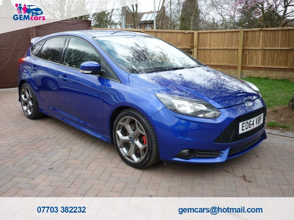 USED 2014 64 FORD FOCUS 2.0 ST-2 5d 247 BHP GO TO OUR WEBSITE TO WATCH A FULL WALKROUND VIDEO