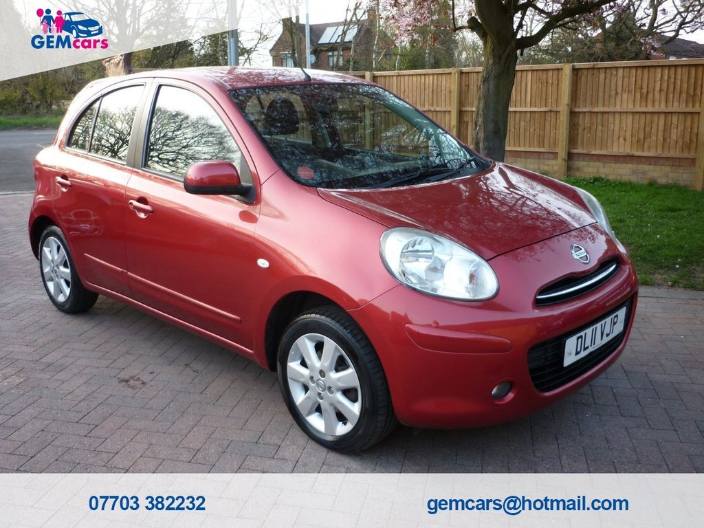 USED 2011 11 NISSAN MICRA 1.2 ACENTA 5d 79 BHP GO TO OUR WEBSITE TO WATCH A FULL WALKROUND VIDEO