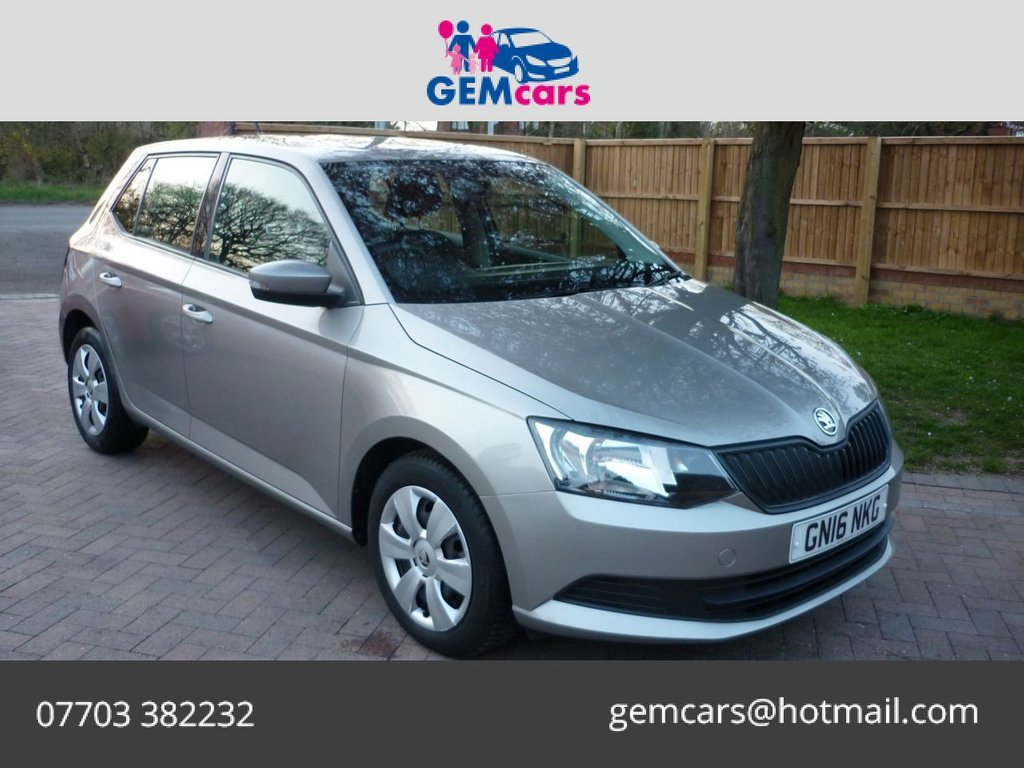 USED 2016 16 SKODA FABIA 1.0 S MPI 5d 59 BHP GO TO OUR WEBSITE TO WATCH A FULL WALKROUND VIDEO