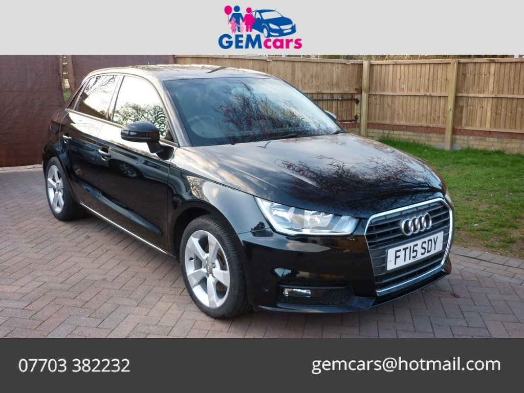 USED 2015 15 AUDI A1 1.6 SPORTBACK TDI SPORT 5d 114 BHP DSG AUTOMATIC GO TO OUR WEBSITE TO WATCH A FULL WALKROUND VIDEO