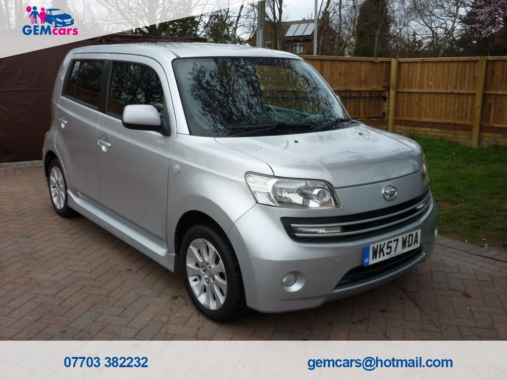 USED 2007 57 DAIHATSU MATERIA 1.5 16V 5d 103 BHP AUTOMATIC GO TO OUR WEBSITE TO WATCH A FULL WALKROUND VIDEO