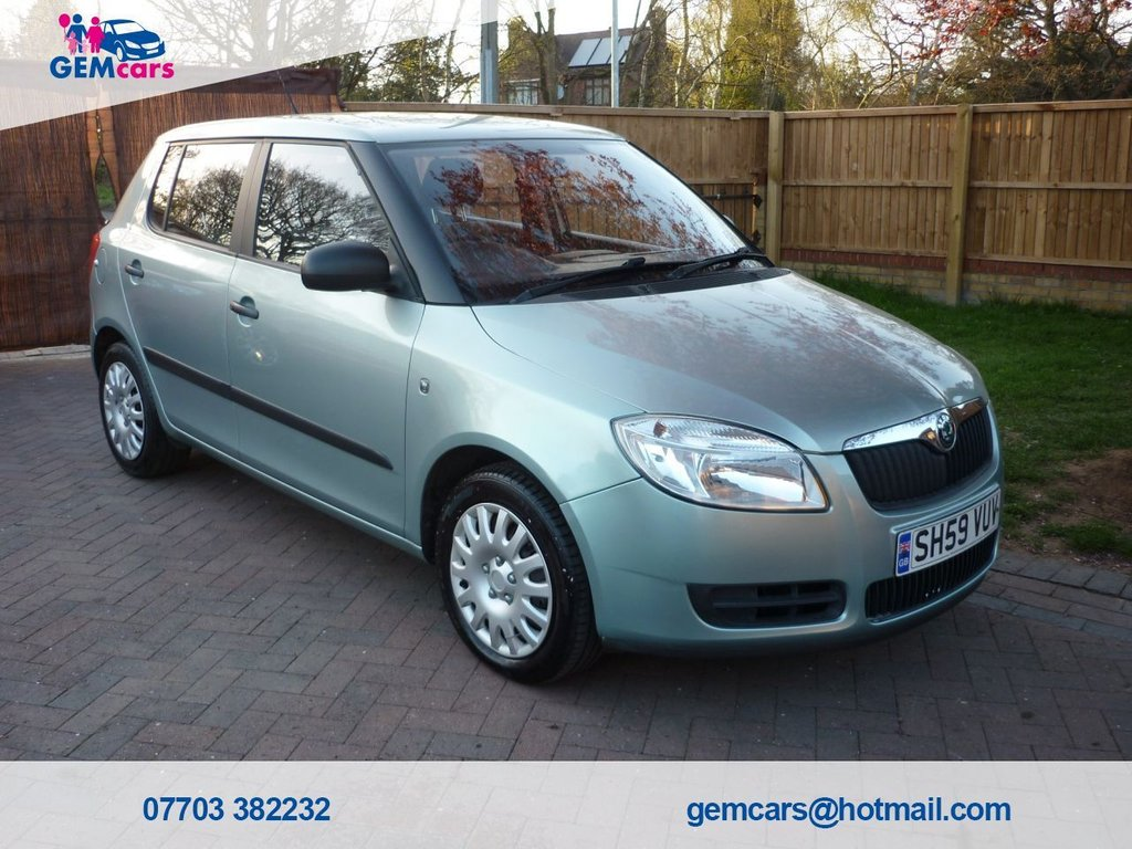 USED 2009 59 SKODA FABIA 1.6 1 16V TIPTRONIC 5d 103 BHP GO TO OUR WEBSITE TO WATCH A FULL WALKROUND VIDEO