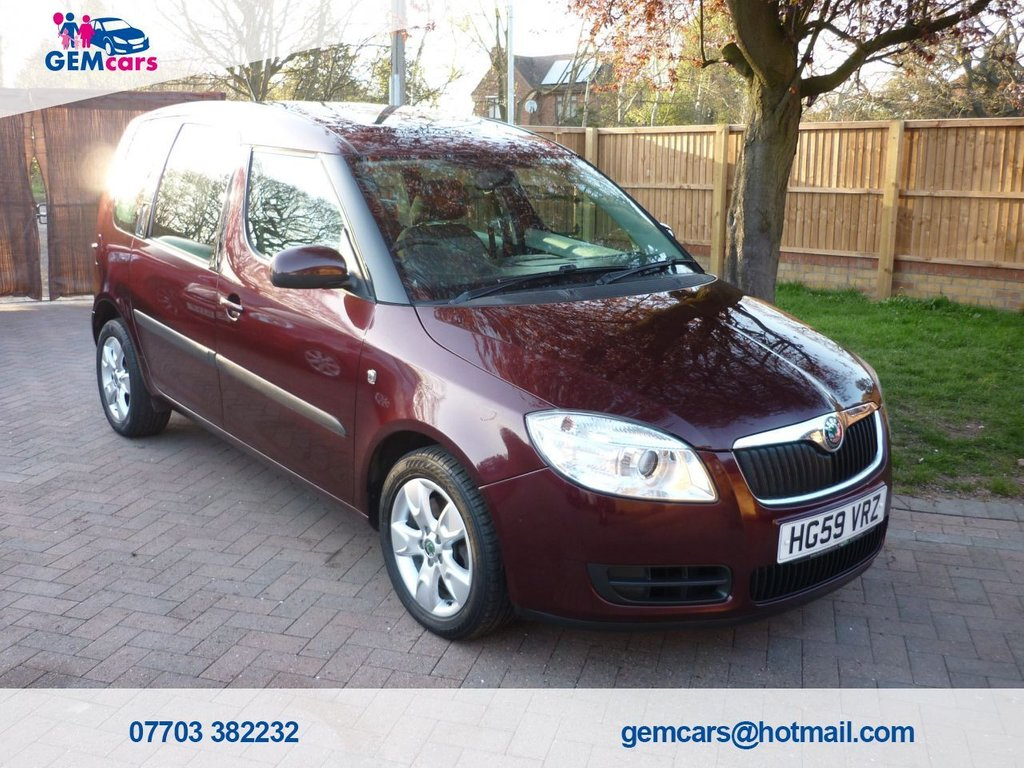 USED 2010 59 SKODA ROOMSTER 1.6 SE 16V 5d 103 BHP GO TO OUR WEBSITE TO WATCH A FULL WALKROUND VIDEO