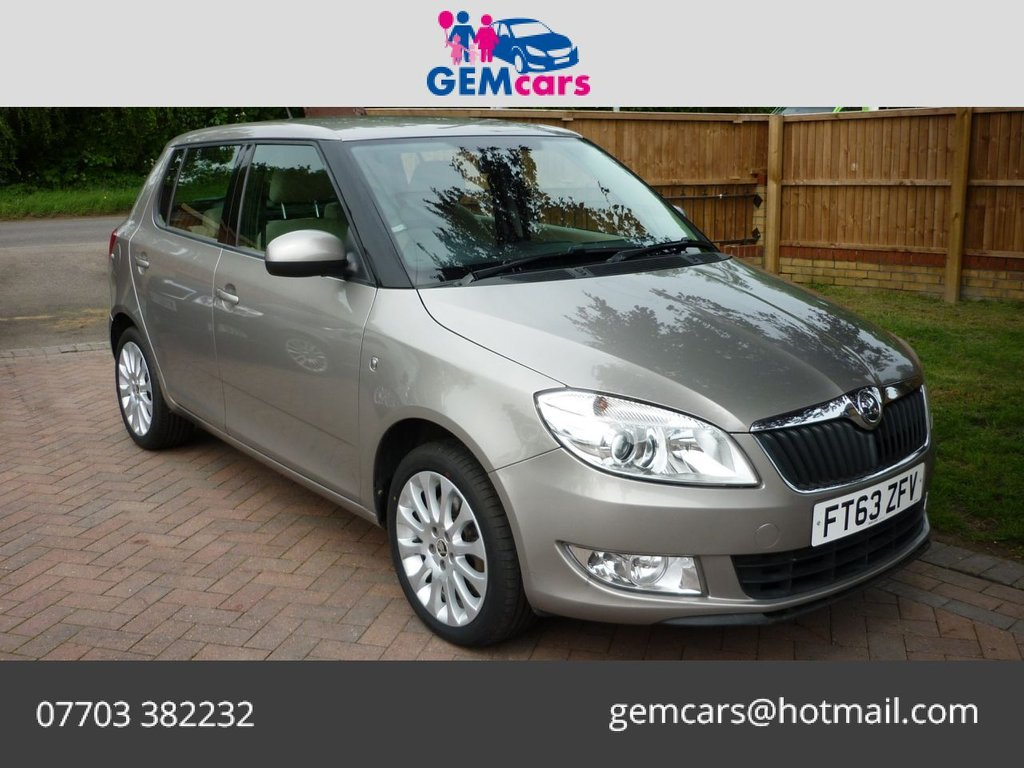 USED 2013 63 SKODA FABIA 1.6 ELEGANCE TDI CR 5d 103 BHP GO TO OUR WEBSITE TO WATCH A FULL WALKROUND VIDEO