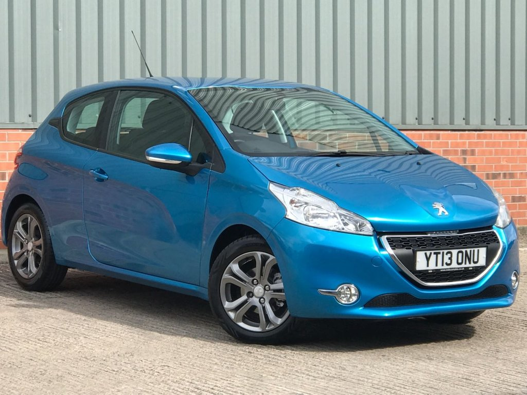 USED 2013 PEUGEOT 208 1.2 VTi Active 3dr EXCELLENT ONE OWNER FROM NEW EXAMPLE