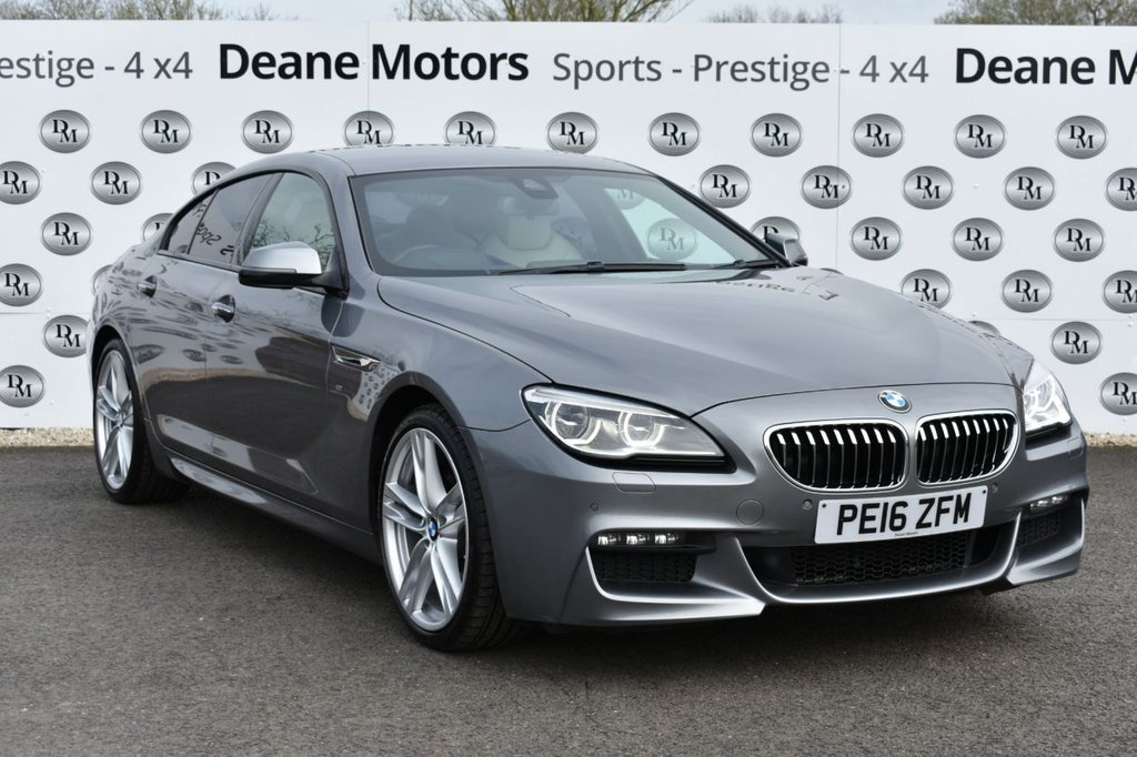 USED 2016 16 BMW 6 SERIES 3.0 640D M SPORT GRAN COUPE 4d 309 BHP